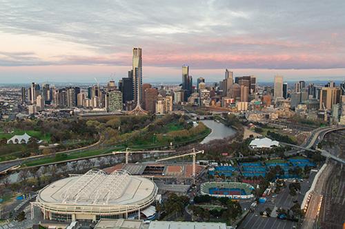 Melbourne-tennis-center