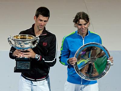 Novak Djokovic win over Rafael Nadal