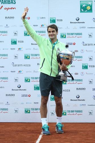 Roger Federer - Istanbul Open 2015